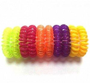 Резинка-пружинка для волос набор №223 10 шт.