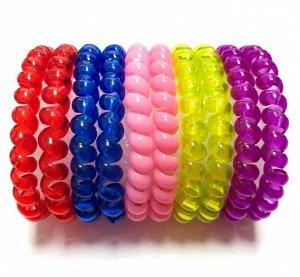 Резинка-пружинка для волос набор №225 10 шт.