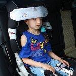 Держатель/Фиксатор для головы ребенка в автокресле Автоняня Овечки в облаках