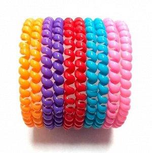 Резинка-пружинка для волос набор №230 10 шт.