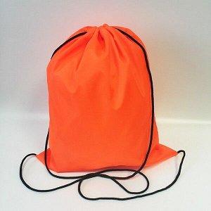 Сумка-рюкзак для сменной обуви ярко-оранжевый