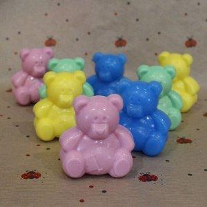 """Натуральное мыло ручной работы Sakura """"Мишка"""" с ароматом баблгам"""