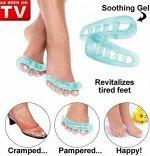 Массажер для пальцев ног Pampered Toes (Пэмперт тоуз)