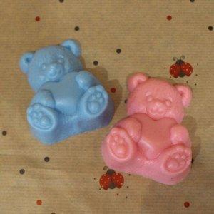 """Натуральное мыло ручной работы Sakura """"Мишка Тедди"""" с ароматом баблгам"""