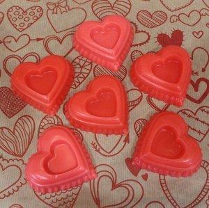 """Натуральное мыло ручной работы Sakura """"Сердце"""" с парфюмерным ароматом Escentric Molecules"""