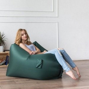 Надувное кресло-лежак Ламзак с карманами LAMZAC Россия зеленый