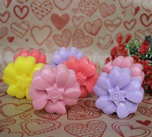 """Натуральное мыло ручной работы Sakura """"Нарцисс"""" с ароматом кокоса"""