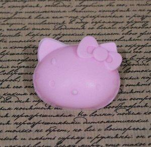 """Натуральное мыло ручной работы Sakura """"Hello Kitty"""" с ароматом клубники"""