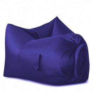 Надувное кресло-лежак Ламзак с карманами LAMZAC Россия темно-синий