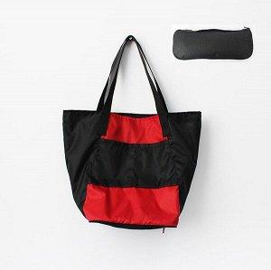 Складная сумка Magic Bag 25 литров Красно-черная