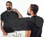 Стильный фартук для стрижки бороды Черный