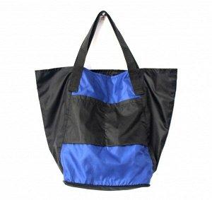 Складная сумка Magic Bag 25 литров Сине-черная