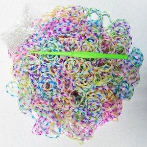 Набор резиночек Белая Зебра для плетения Loom Bands 600 шт