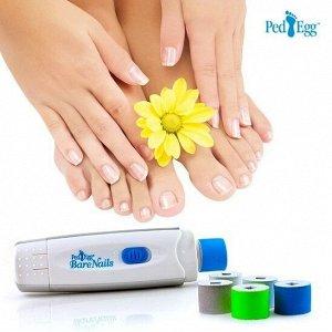 Электрическая пилка для ногтей Bare Nails Ped Egg