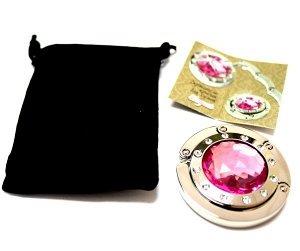 Держатель-крючок для сумок Elegant Элегант (розовый)