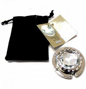 Держатель-крючок для сумок с зеркалом Mirror Миррор (серебристый)