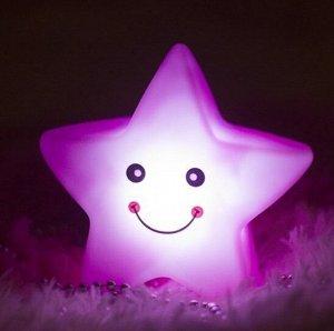 Светильник-ночник светодиодный Большая звезда