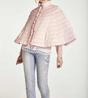 Накидка, розовая