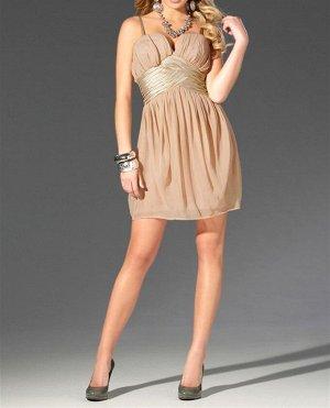 Платье, бежевое