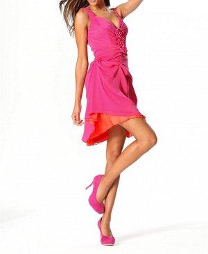 Топ и юбка, розовые