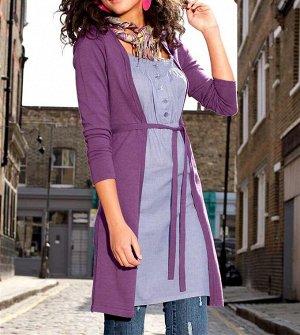 Платье 2 в 1, лиловое