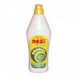 Крем чистящий для кухни / микрогранулы «Kaneyon» (с ароматом лимона) 550 г