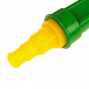 """Пистолет-распылитель, 5 режимов, под шланги 1/2"""" (12 мм), 3/4"""" (19 мм), 1"""" (25 мм), пластик"""