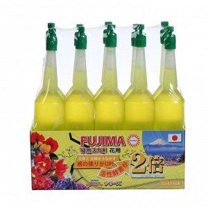 Удобрение Японское FUJIMA для комнатных цветов и деревьев, желтый, 35 мл, 10 шт  (набор)