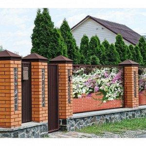 Фотобаннер, 250 ? 150 см, с фотопечатью, люверсы шаг 1 м, «Весенние цветы»