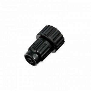 """Коннектор, внутренняя резьба, 3/4"""" (19 мм) — 6 мм, пластик"""
