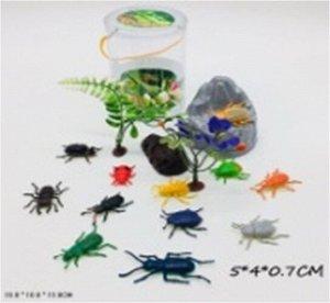 Набор насекомых в пласт. банке 10*10*13 см.