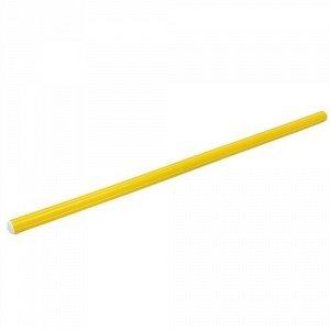 Палка гимнастическая 70 см. цв. желтый