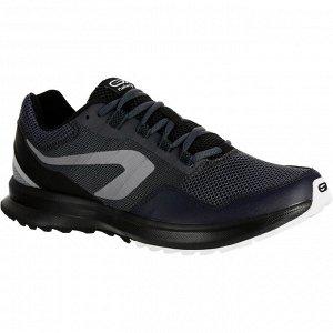 Кроссовки Run Active Grip мужские серо–черные KALENJI
