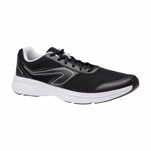 Кроссовки для бега Run Cushion мужские черно–серые KALENJI