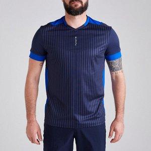 Футболка мужская F500 темно-синяя KIPSTA