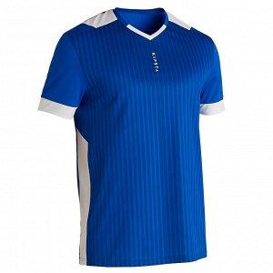 Футболка мужская F500 синяя KIPSTA