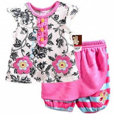 Детская одежда, обувь, бельё, аксессуары! Новинки купальники — Одежда для малышей. Девочки. — Боди и песочники
