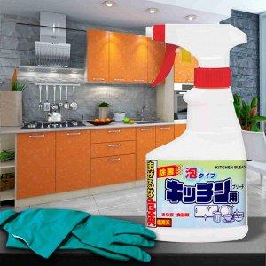 301482 RS Отбеливатель для кухни хлорный пенящийся 300 мл.