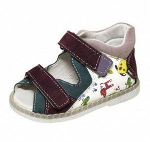 Туфли (босоножки) ясельные для мальчика