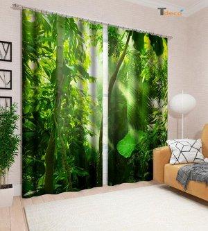 Тропический лес. Размер 3х1,6м.
