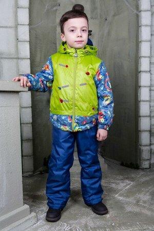 Костюм НИКИТА (куртка+брюки на лямках)
