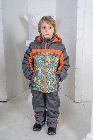 Костюм АНДРЕЙ (куртка+брюки на лямках)
