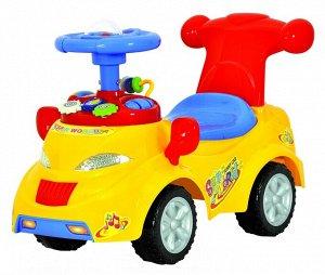 """Машина для катания детей Толокар """"CHILOK BO"""" 378 (желтый)"""