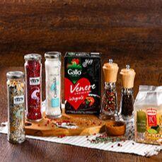 #ВкуснаяЕда. Время кушать лапшу! — Специи, концентрированные бульоны — Растительные масла