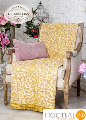 Накидка на кресло гобелен 'Paroles or' 100х170 см