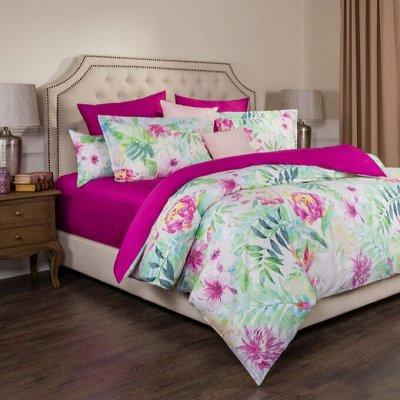Узнаваемый декор из Европы и Азии-28 — Текстиль для гостиной и спальни. КПБ, пледы, одеяла — Двуспальные и евро комплекты