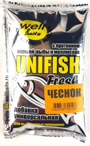 Добавка для прикормок UNIFISH Fresh water 95 гр (чеснок)