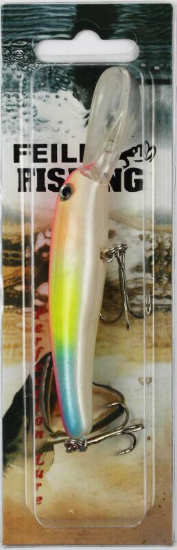 Воблер Feile Fishing (14гр, 11см, розовая спина, оранж-желто-голубые бока)