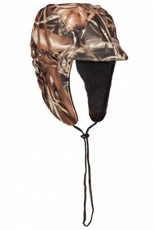 Кепка зимняя Huntsman Охотник (60р, цв. камыш, тк. Алова-мембрана)