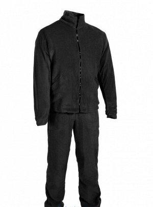 Куртка демисезонная Huntsman Байкал (60-62р, черный, тк.Флис)
